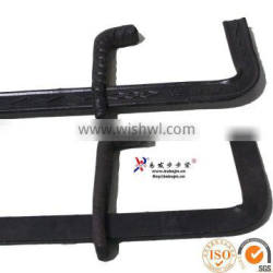 G type steel forged 6mm formwork shuttering clamp supplier