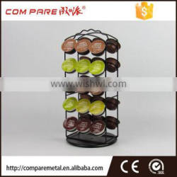 Rotating Dolce Gusto coffee capsule holder