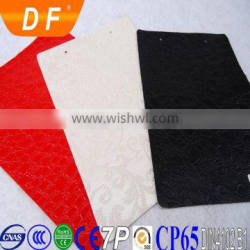 """54/55"""" Width and Knitted Backing Technics pvc leather"""