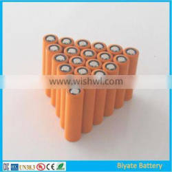 CE UL MSDS approved 2600mAh 18650 li-ion toys battery cell