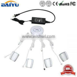 rechargeable lithium battery inside Multichannel 4 ports alarm host