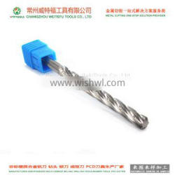 customized solid tungsten carbide reamer with high precision and good chip removal