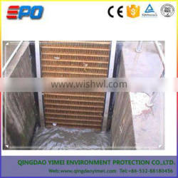 mechanical the scoop type bar screen for river water conditioning