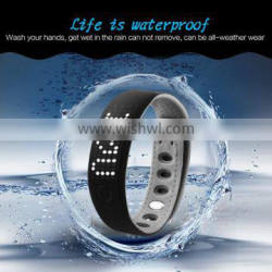 waterproof bluetooth bracelet/Bluetooth Smart wristband 2016 for Android