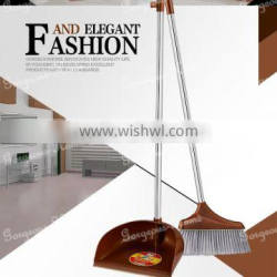 best selling high quality good cleaning broom with dustpan