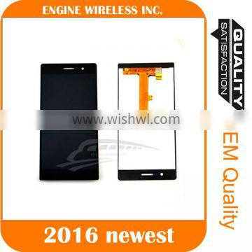 black & white screen mobile phone lcd touch screen digitizer for huawei ascend mate 7