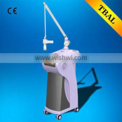 Wart Removal Vaginal Rejuvenation 50w Imported Tube Ultra 15W(20W) Treat Telangiectasis Portable Pulse Co2 Fractional Laser Machine Skin Tightening Eye Wrinkle / Bag Removal