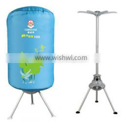 china imported portable electric clothes dryer with UV sterilization