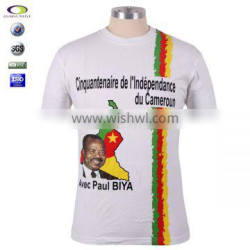 Good Quality Cotton Election Man Tshirt Wholesale