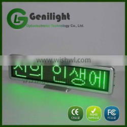 Hot Products Programmable Led advertising display for Desk