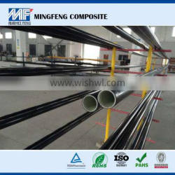MF0066 High-quality frp/grp Anti-corrosion and high tensile strength black bamboo poles