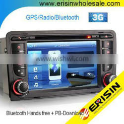 "Erisin ES7047A 7"" 2 Din MTK Car Navigation System for A3 S3 RS3 RNSE-PU"