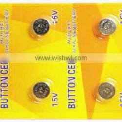 Factory price 1.5V coin cell AG3 LR41 alkaline battery