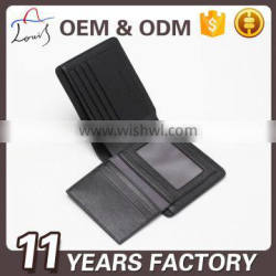 Europe business man pu leather wallet