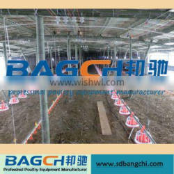 Poultry control shed farm equipments for broiler chicken