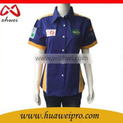 Alibaba Promotion Shirts for Worker Polyester Cheap OEM Logo Worker Shirts Quality Choice
