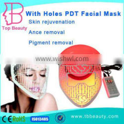 Factory outlet skin care pdt led light therapy led face mask/led facial mask for acne treatment