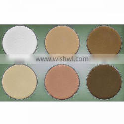 2016 New arrival 6 color makeup pressed face powder for Face Makeup
