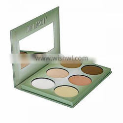 New arrival Pro 6 Color Cosmetics Beauty Foundation Primer Face Powder Waterproof Foundation Stick Makeup