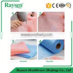 Domestic wipe roll / non woven fabric / dry wipes