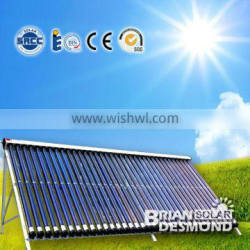 factory sale evacuated tube solar collector
