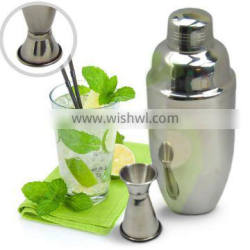 Stainless Steel Drink Mixer& Cocktail Shaker Set