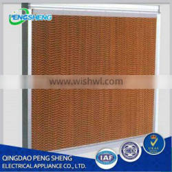 Industry evaporative cooling pad/wet curtain for greenhouse/poultry ventilation system(5090,7090)