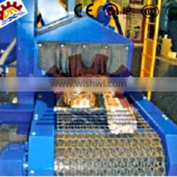 Customized/non-standard High quality QWD Series /efficient Wire Mesh Belt Blasting Machines for Rust Removal with direct-driven