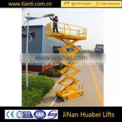 Automatic maintenance man lifter for air condition