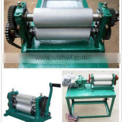 stainless steel beeswax sheeter for making beeswax foundation
