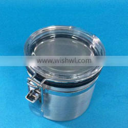 Perfect airless aluminum jar for dry food