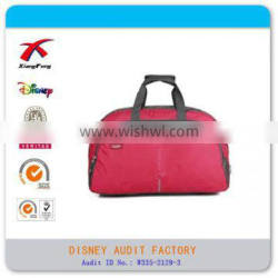 XF-090124 Factory cheap classic promtional polyester luggage travel bag