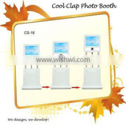 Portable 3D Software Photo Booth Kiosk For Rental Business