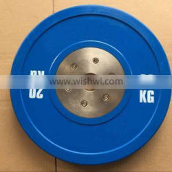 20KG Blue Competition Weightlifting Bumper Plates