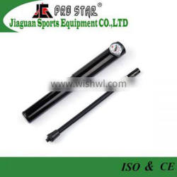 Deluxe high pressure aluminum mini bicycle accessories hand pump with gauge
