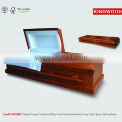 CardCONCORD american style Best Price Cardboard Casket china manufacturing company