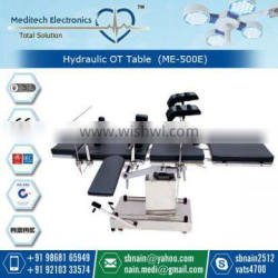 C-Arm Compatible Electrical Hydraulic Operating Table Price