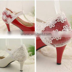 Wholesales Lace Decoration for Shoes High Heels European-style Shoe Covers