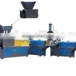 Iran hot sale 3 stages claw type force feeder plastic film recycling machine