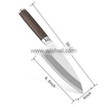Durable ultra sharp high end japanese steel chef knife