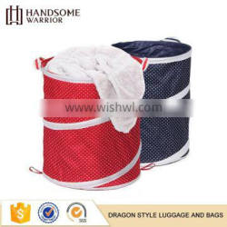 Easy to clean foldable oxford cloth big size laundry basket
