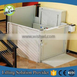 Electric disabled home vertical wheelchair lift platform for sale