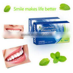 6% hydrogen peroxide tooth whitening strips private labels