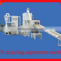 Wanqi electrical waste PCB recycling equipment machine/ Scrap PCB recycling machine environmental-friendly with factory price