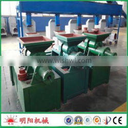 High quality with CE ISO coal briquette sawdust charcoal machine 008615225168575
