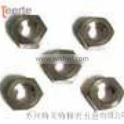 small hexagon thin nut with fine pitch thread