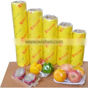 Clear Pvc Cling Film for Food and Vegetable Wrap Food Grade Plastic Wrap Film