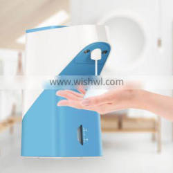 Touchless hand washing countertop soap dispenser