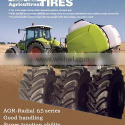RADIAL AGRICULTURAL TRACTOR FARM TIRES 480/65R28 Big AGR Radial tractor Type