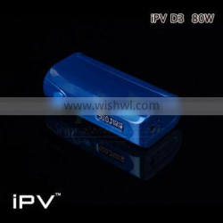 2016 wholesale new products iPV D3 80W single battery Dry Herb E-cigarette IPV D3s in stock